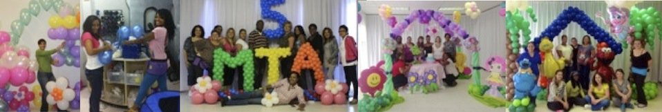 event decorating academy             balloon decor class student pictures