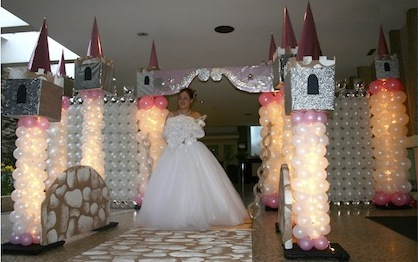 event decorating academy princess theme  parties course