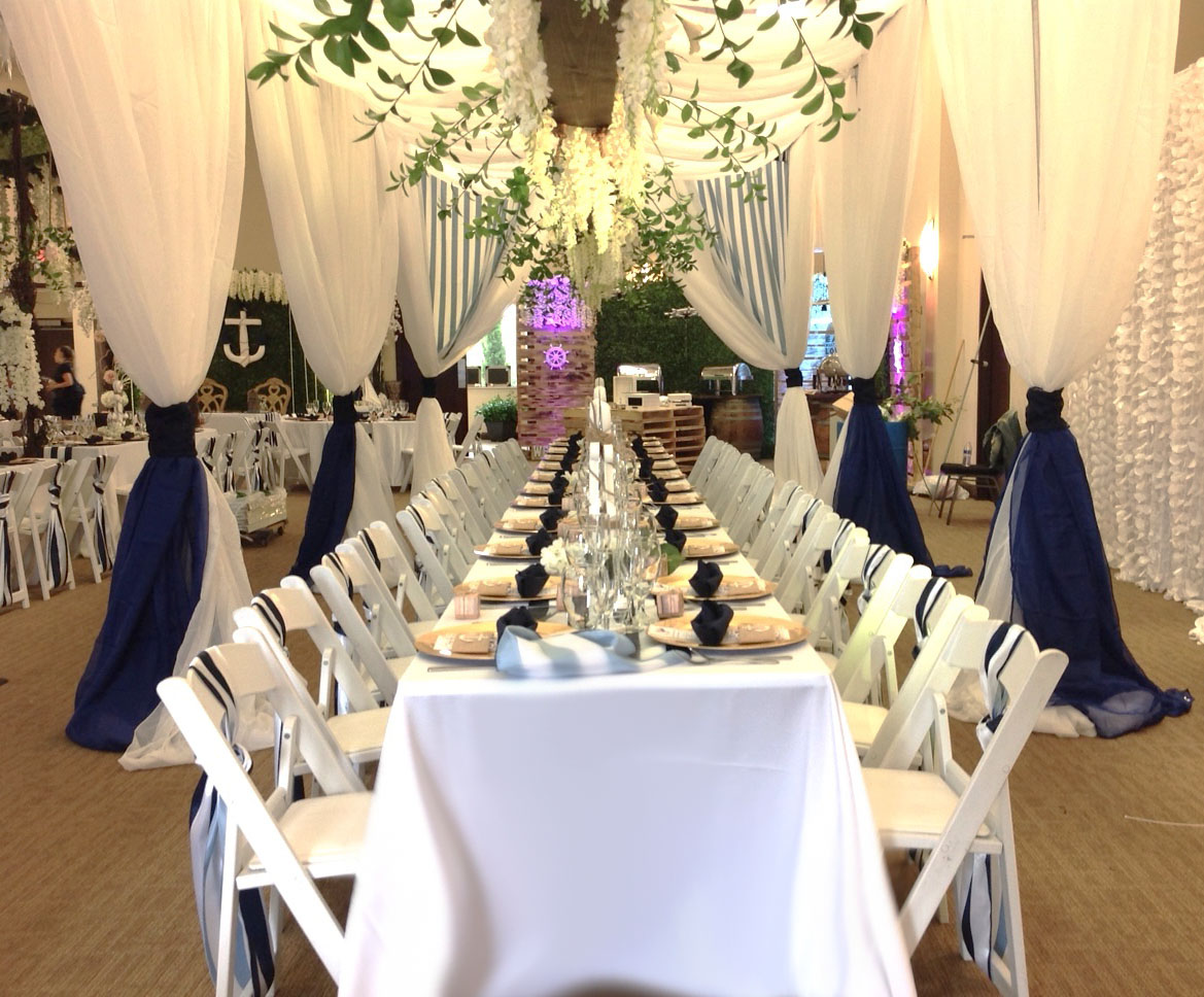 event fabric         draping         course